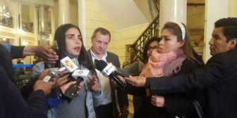 Presidenta de Diputados condena la convocatoria de la oposición a votar nulo en las elecciones judiciales