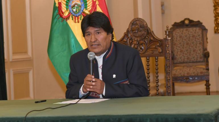 Morales anuncia incentivo al empleo con inversiones