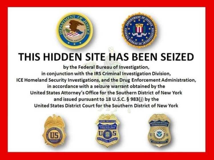 Cuando Ross Ulbricht fue detenido, el gobierno de los Estados Unidos cerró su sitio.