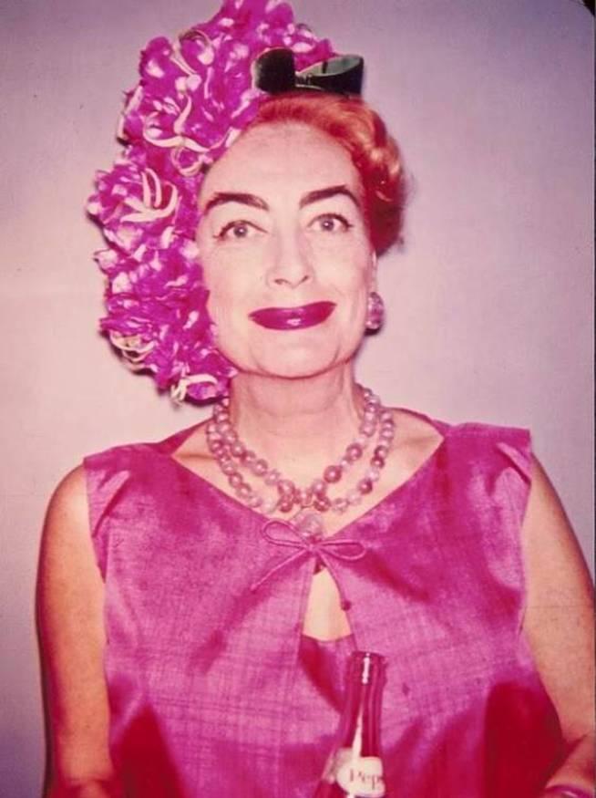 Joan Crawford en sus últimos años. (RRSS)