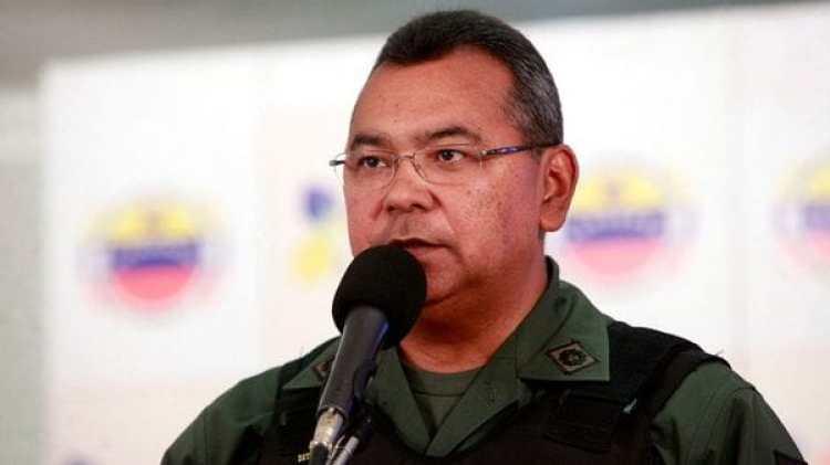 Néstor Reverol, ministro del Interior chavista