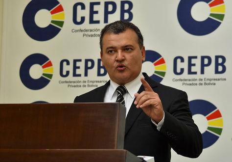 El presidente de la CEPB Ronald Nostas