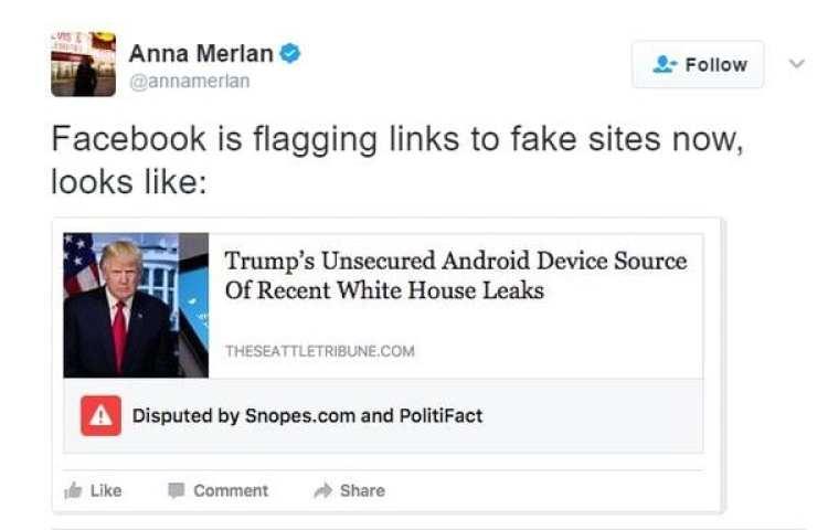 """Facebook implementó avisos en """"noticias falsas"""" que advierten contradicciones en ciertas noticias con respecto a otras fuentes"""