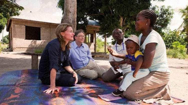 """Bill y Melinda Gates dedican parte de su fortuna a labores humanitarias porque creen que """"todos deben tener las mismas oportunidades"""""""