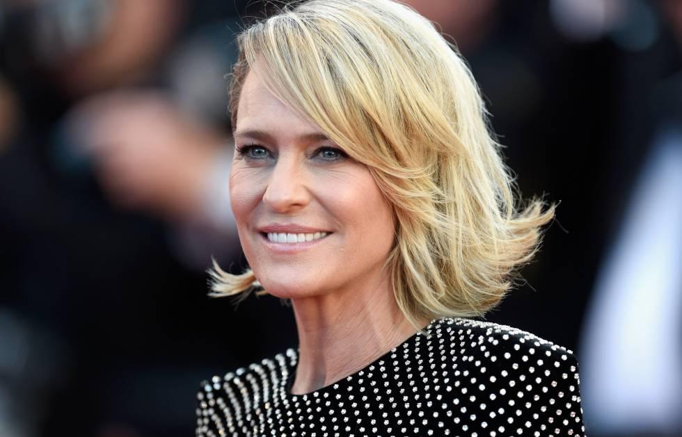 Robin Wright, el pasado miércoles en el festival de Cannes.