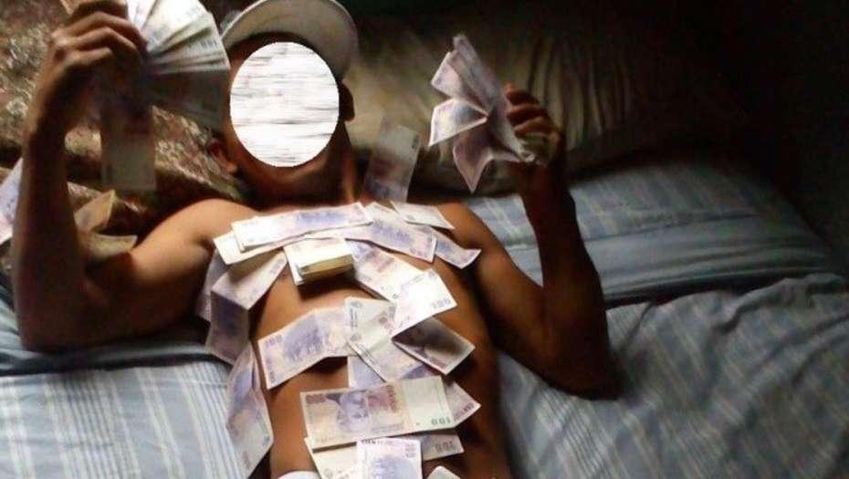 Vendía drogas por Facebook y se sacaba fotos