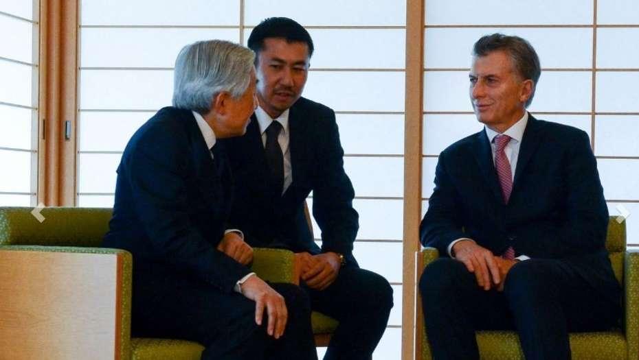 La cantidad de pobres en Argentina sorprendió al emperador japonés
