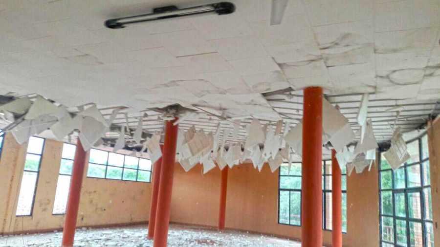 Una obra de más de $us. 1 millón se cae a pedazos en Villa Montes/Tarija