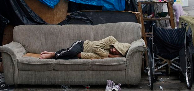 Nadie esconde el motivo por el que están en Cracolanida: comprar, consumir libremente o vender crack. Foto: Getty Images