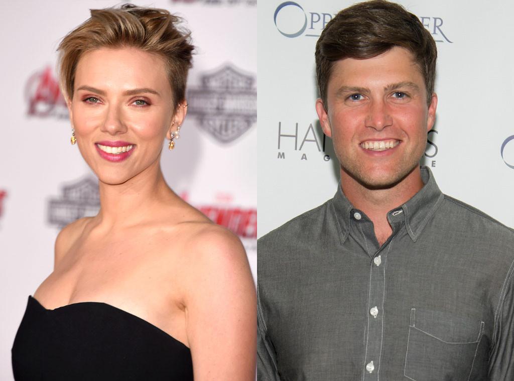 Captan a Scarlett Johansson coqueteando con Colin Just