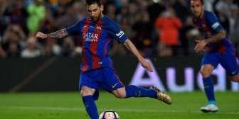 Lionel Messi y Pablo Piatti, en el equipo ideal de la liga española