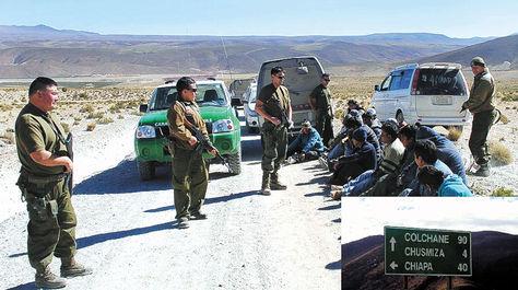 Fiscalía chilena y defensa de bolivianos detenidos analizan juicio abreviado