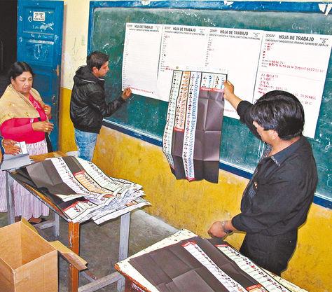 Elecciones judiciales