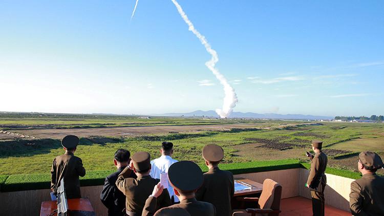 Corea del Norte difunde un video de la prueba de su nueva arma antiaérea