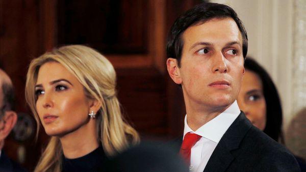 Jared Kushner junto con su esposa Ivanka Trump (Reuters)