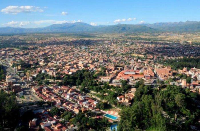 Resultado de imagen de mancha urbana de la ciudad de Tarija