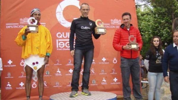 Silvino Cubesare ganó en la categoría Senior el ultamaratón Trail Quixote Legend