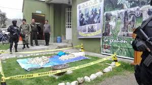 Fuerza antidroga de Tarija secuestró 118 kilos de marihuana