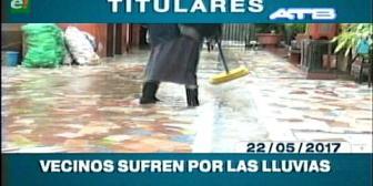 Video titulares de noticias de TV – Bolivia, mediodía del lunes 22 de mayo de 2017