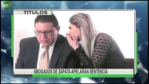 Video titulares de noticias de TV – Bolivia, mediodía del martes 23 de mayo de 2017