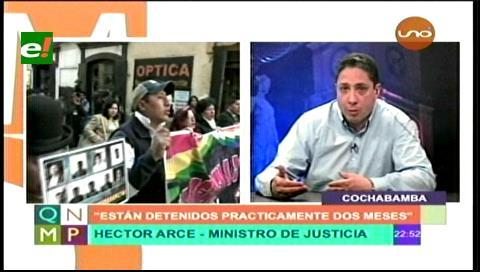 """Héctor Arce: """"Declaraciones de autoridades chilenas son delirantes"""""""