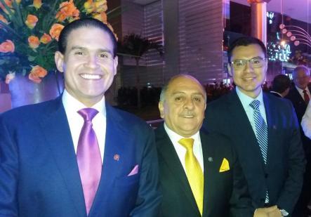 José Luis Camacho, Alvaro Toledo y Jorge Hugo Parada