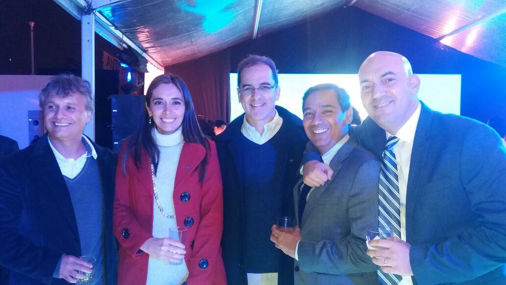 Hugo Fiaschetti, Viviana Vaca, Mario Aguirre, Dito Cuellar y Roly Aguilera