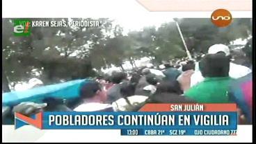Sigue la tensión en San Julián y la Fiscalía abre proceso por crimen