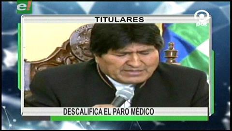 Video titulares de noticias de TV – Bolivia, noche del martes 23 de mayo de 2017