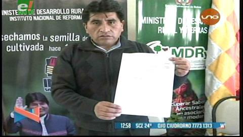 Detienen a un falsificador de documentos del INRA