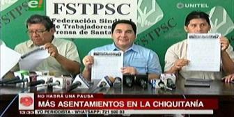 Se agrava conflicto por tierra en la Chiquitanía y el INRA no actúa