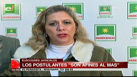 Diputada Capobianco critica ampliación para postular a cargos judiciales