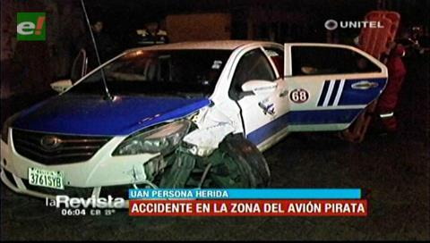 Dos accidentes de tránsito se registraron por exceso de velocidad