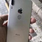 Carcasa trasera de un supuesto iPhone 8