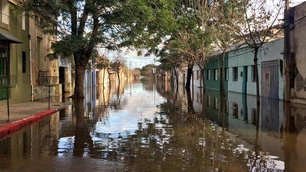 Las inundaciones en el departamento de Salto