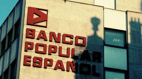 Imagen del anuncio del Banco Popular Español.