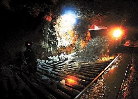 Producción minera en Bolivia. Foto: Wara Vargas-Archivo.