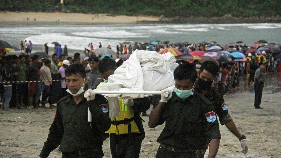Avión militar con 100 personas a bordo desaparece en Myanmar