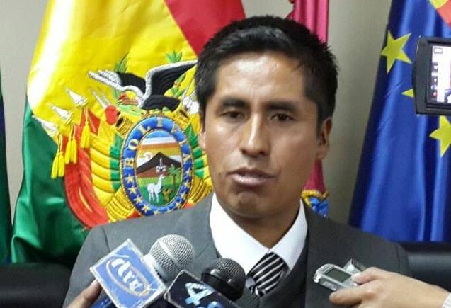 Resultado de imagen de El presidente de la Brigada Parlamentaria de Oruro, Rubén Gutiérrez