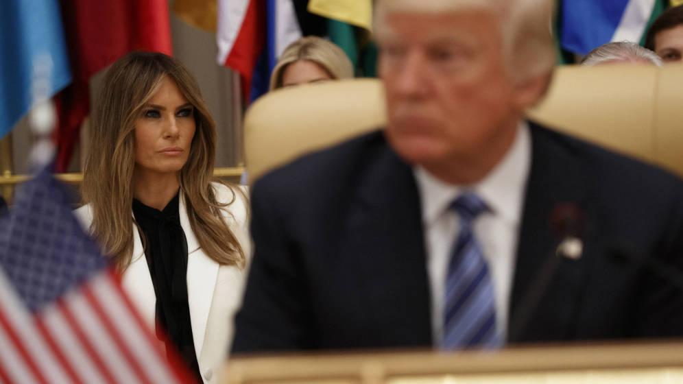 Foto: Melania y Donald Trump en una imagen de archivo. (Gtres)