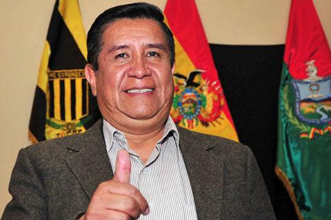 Resultado de imagen de César Salinas, presidente de The Strongest