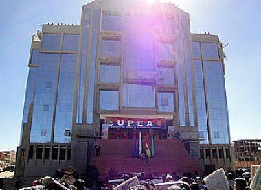 Universidad Pública de El Alto, edificio Emblemático de la UPEA