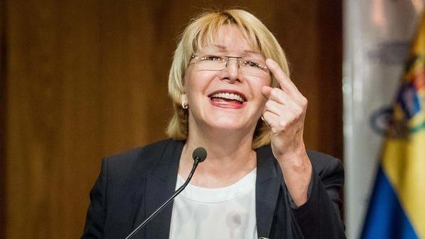 Luisa Ortega con su labor en la fiscalía desde que iniciaron las protestas se distanció del régimen de Nicolás Maduro.(EFE)