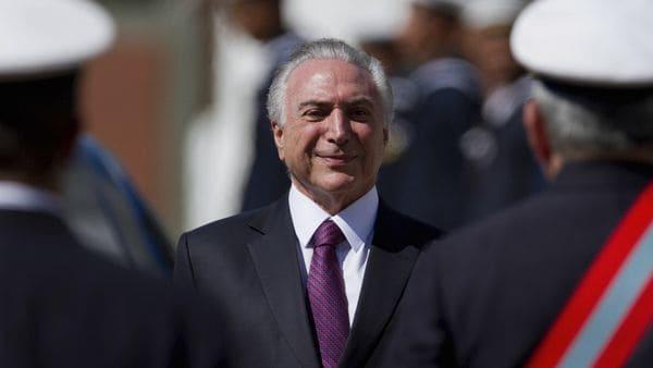 Michel Temer, presidente de Brasil. (AP)