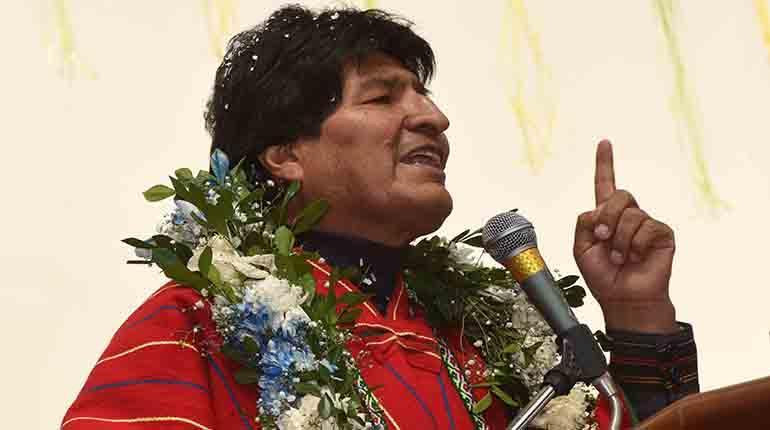 Evo Morales acusa a Chile de 'torturar' a bolivianos detenidos