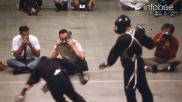 [VIDEO] Revelan inédita grabación de pelea real de Bruce Lee