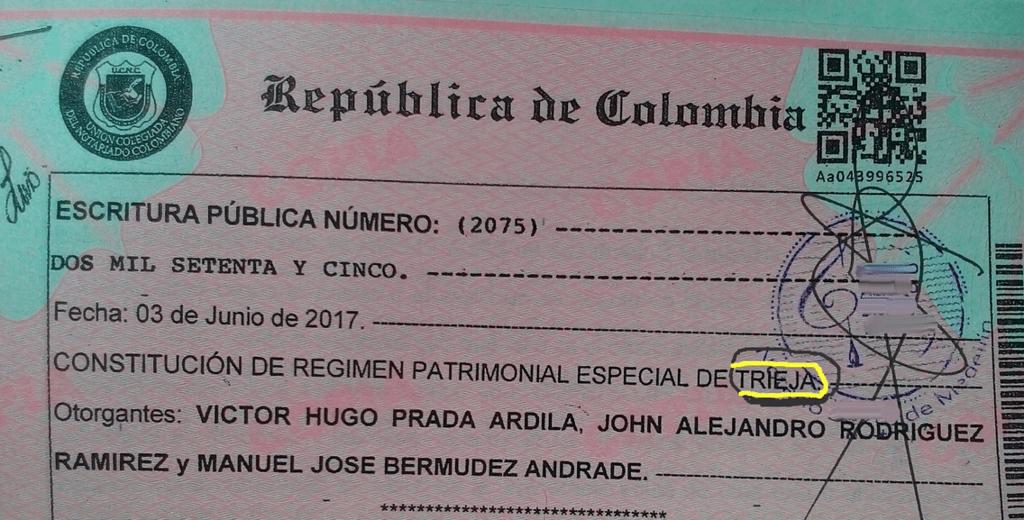 Manuel José Bermúdez, Víctor Hugo Prada, John Alejandro Rodríguez