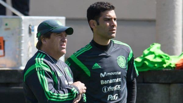 """""""Rafa Márquez es un líder natural, todos lo ven como un símbolo"""", dijo Miguel Herrera a Infobae"""