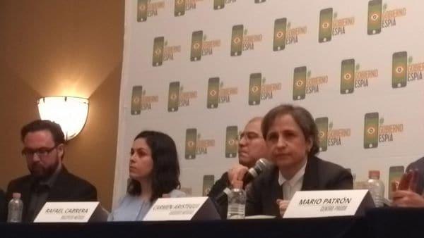 Carmen Aristegui y activistas mexicanos denunciaron al gobierno por espionaje