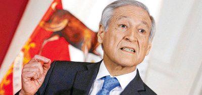"""Canciller: """"Chile no acepta que se ventile en la OEA una situación judicial interna del país"""""""